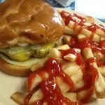 Good burger and fries