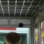 train à énergie solaire