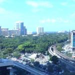 View from room 1623 King Suite