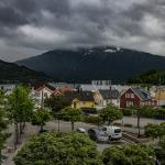 View from Best Western in Sogndal