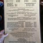 Their incredible menu!