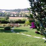 Vista dal giardino
