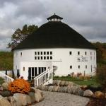 Round Barn in the fall