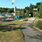 Espace de jeu (tennis de table, trampoline)