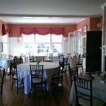 The delightful dining area.