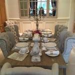 Amazing breakfast table
