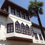 Vackert ottomanskt hus med hotell