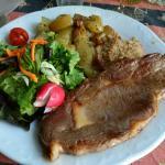 la pièce de viande