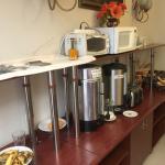 Recepción y Restaurant del Hotel