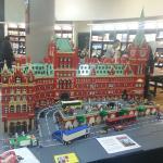 King's Cross Station feita de LEGO