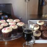 Coffee and cupcakes