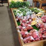 野菜売り場の夏野菜