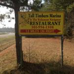 Look for the Tall Timbers Sign off MD 249 just before Piney Point and St George's Island.