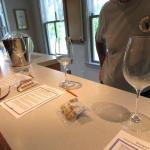well-organized wine-tasting