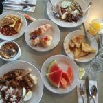 yummy breakfast buffet