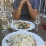 Belles et bonnes salades César et Nicoise