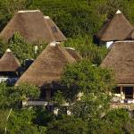 Bwindi Lodge, Buhoma, seen from above