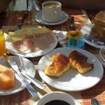 Desayuno (Super completo, habia de todo)