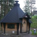 A rental campfire hut in Kuusamo Spa Hotel