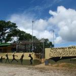 Spanish wall softball park