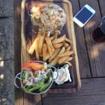 £22 steak topper yummy! Worth every penny!