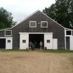 "The barn for gatherings or for the kids ""hang out"" area"