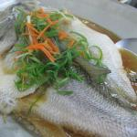 Whole Fish in some kind of broth