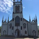 Restored Anglican church within walking distance of this Motel