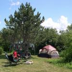 Spacious camp areas
