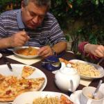 обед первое спагетти в трех вариантах