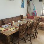 cafe dining and surf board hire