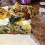 Breakfast Frittata, potatoes and sausage