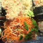 Samurai, Spicy Salmon Nigri & Spicy Scallop