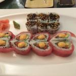 Love roll and salmon roll- both good