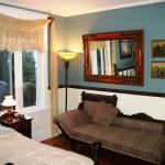 La chambre Grand-Mère, décorée dans le style de la maison