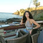 Ужин с видом на море!