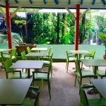 Terrasse Tropicale du Petit déjeuner