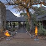 The entrance area - Welcome to Rhulani!