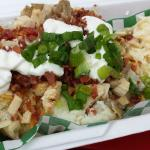 The Islander- chicken, bacon, sour cream, cheese, and green onion