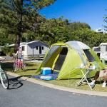 Ocean Beach family camping holidays