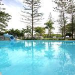 Tallebudgera Creek resort pool heated seasonally