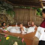 Sap hot tub