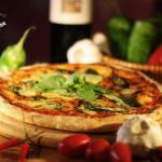 Our Margherita pizza