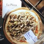 One of our specialty products: frozen pizza for use in venues where food is served, but not a pr
