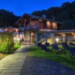 Wunderschön bei Nacht - der Saunagarten