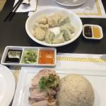 Fresh organic produce available here. Hainan chicken and beef curry were excellent... So were th