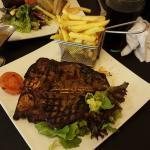 T-bone steak was delicious