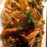 Spaghetti di Mare (Spaghetti Meeresfrüchte)