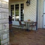 les petits déjeuner en terrasse