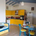 Cuisine-salle à manger-salon